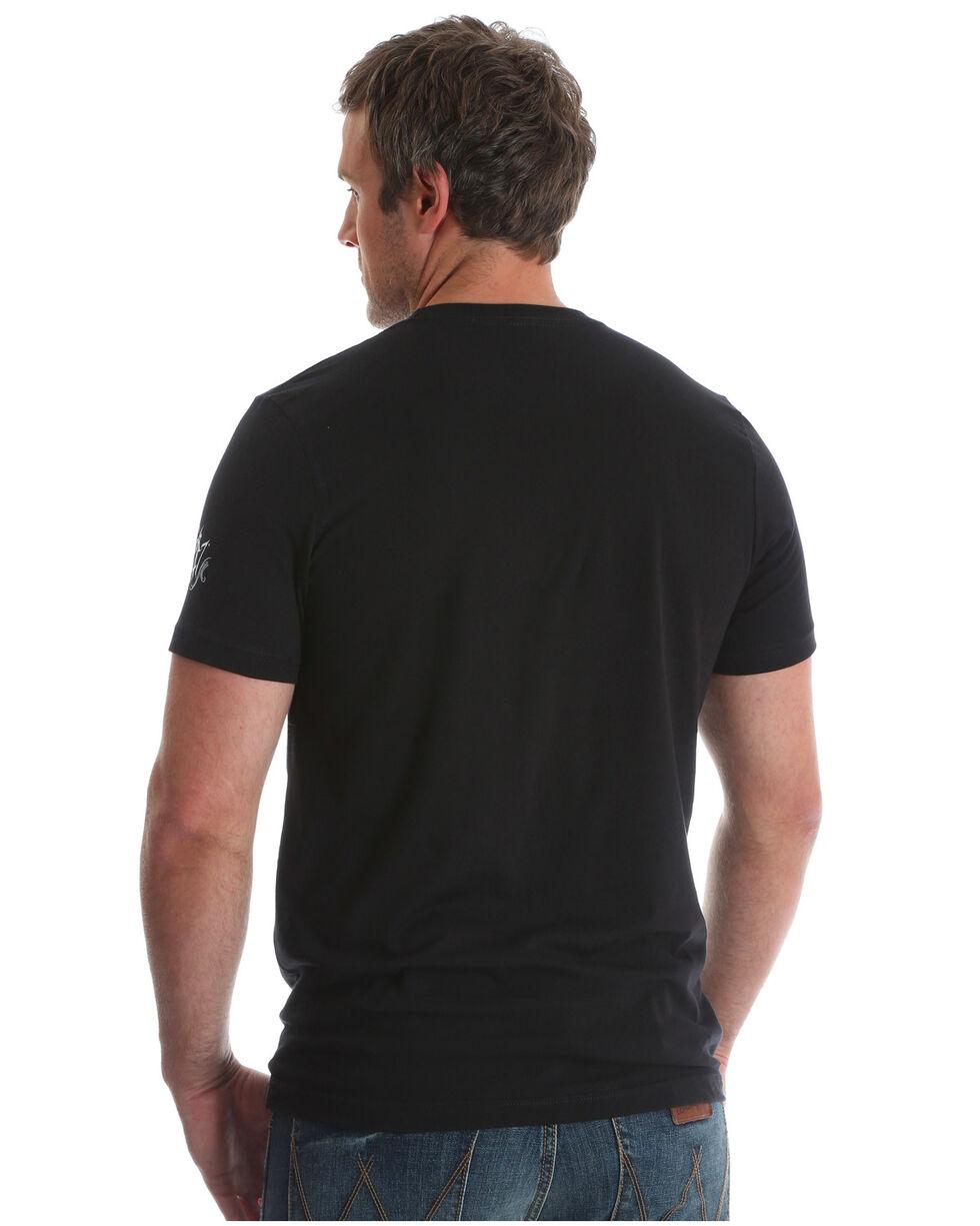 Wrangler Rock 47 Men's Steerhead Americana Flag T-Shirt, , hi-res