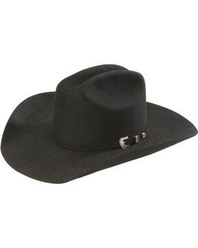 Resistol Men's Challenger 5X Felt Hat, Black, hi-res