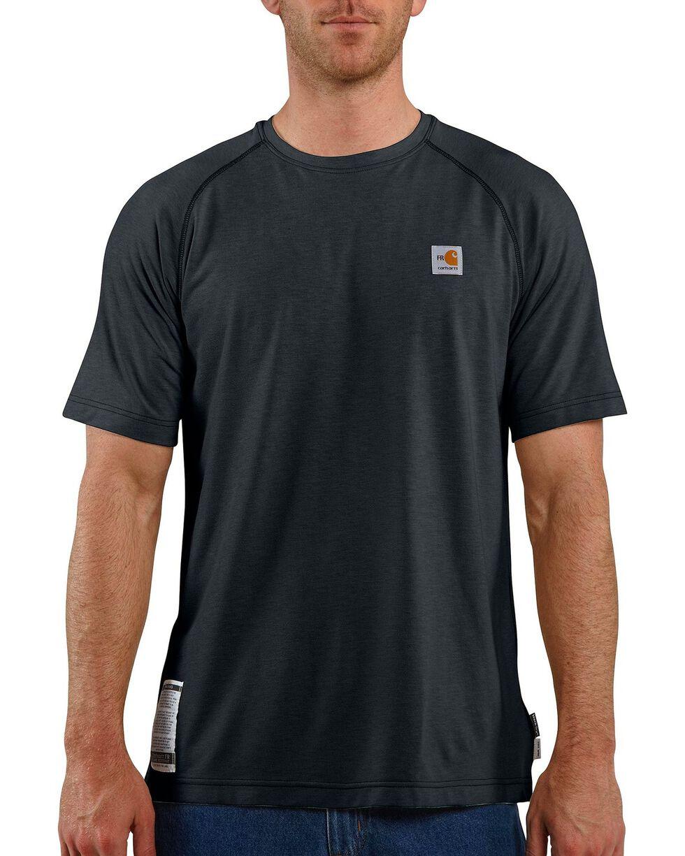 Carhartt Men's Flame Resistant Force T-Shirt, Navy, hi-res