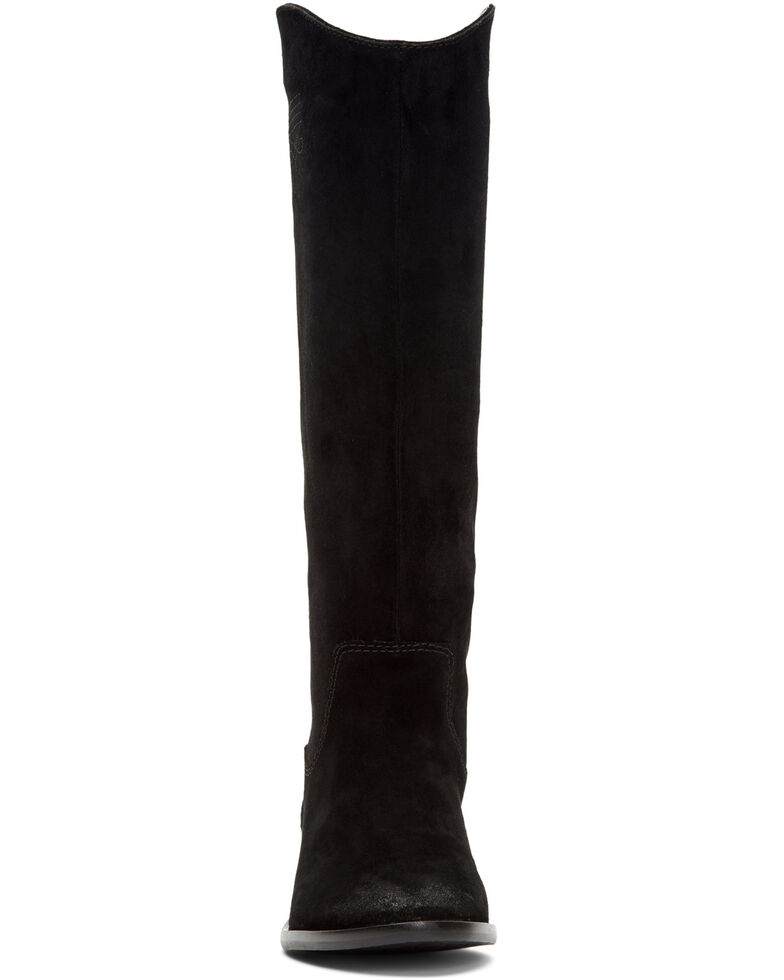 Frye & Co. Women's Caden Stitch Tall Western Boots - Round Toe, Black, hi-res
