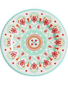 HiEnd Accent Multi Western Four-Piece Melamine Dinner Plate, Multi, hi-res