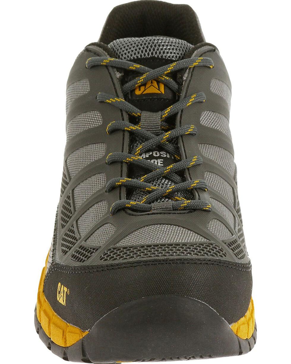 CAT Men's Streamline ESD Composite Toe Work Boots, Grey, hi-res