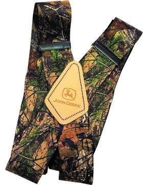 John Deere Men's Camouflage Suspenders , Camouflage, hi-res