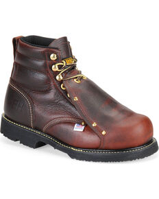 Carolina Men's External MetGuard Work Boots, Brown, hi-res