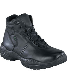 Reebok Women's Chukka Work Boots - USPS Approved, Black, hi-res