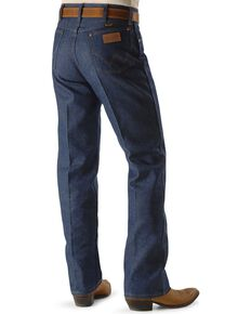 Wrangler Men's Rigid Cowboy Cut Original Fit Dress Jeans, Indigo, hi-res