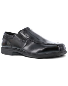 Florsheim Men's Coronis Black Work Boots - Steel Toe, Black, hi-res