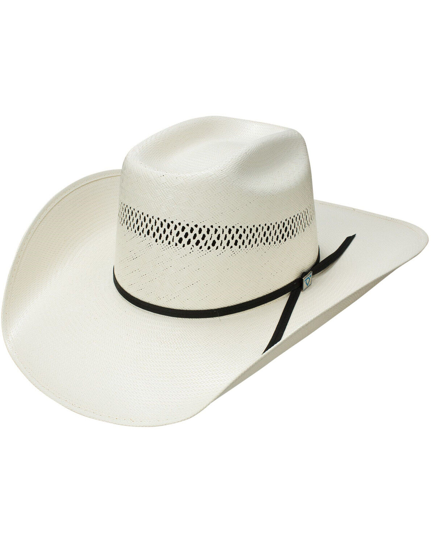 Charlie 1 Horse Hats Mens 10X Shantung High Call 4 1//4 Brim Straw Fashion hat