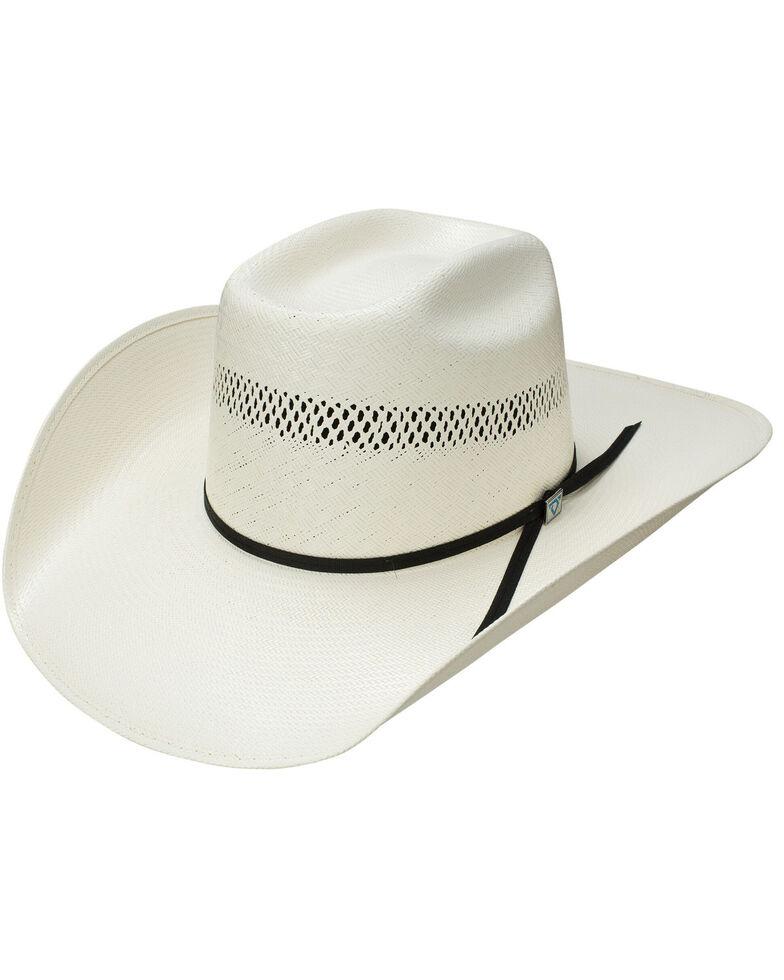 Resistol Men's Natural Hootie Brick Western Straw Hat , Natural, hi-res