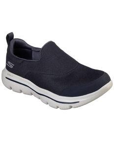 Sketchers Women's Go Walk Slip-On Shoes, Navy, hi-res