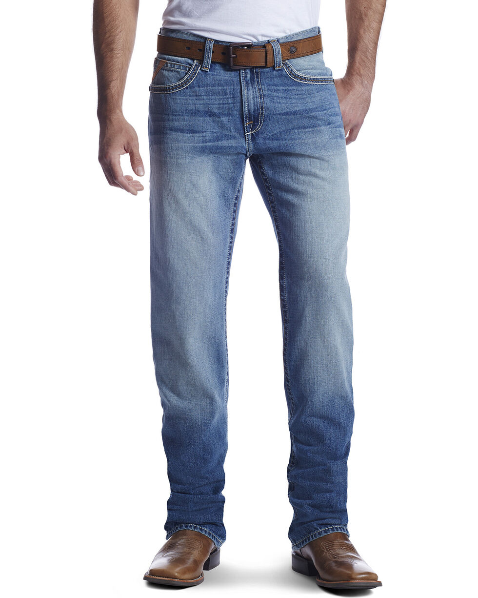 Ariat Men's M2 Troy Ashwood Denim Boot Cut Jeans, , hi-res