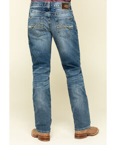 Ariat Men's M4 Dakota Low Stretch Stackable Slim Straight Jeans - Big , Blue, hi-res