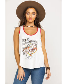 26e178cc80290 Shyanne Women s Texas State Of Mind Racer Back Tank Top