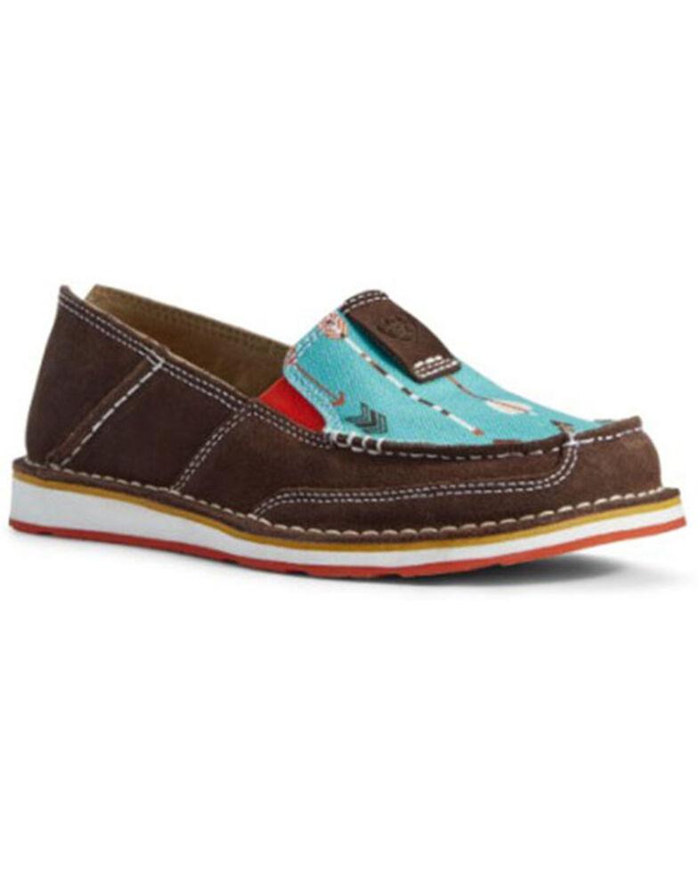 Ariat Women's Arrow Cruiser Shoes - Moc Toe, Brown, hi-res