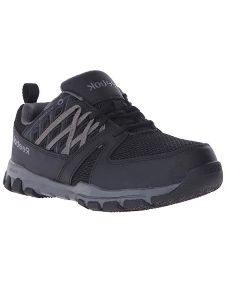 Reebok Women's Sublite Work Shoes - Composite Toe, Black, hi-res