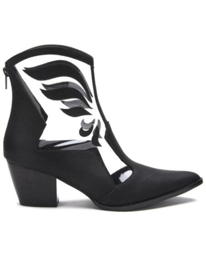 Matisse Women's Cloud Nine Fashion Booties - Snip Toe, Black, hi-res