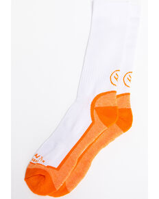 Hawx Men's 3 Pack Socks, White, hi-res