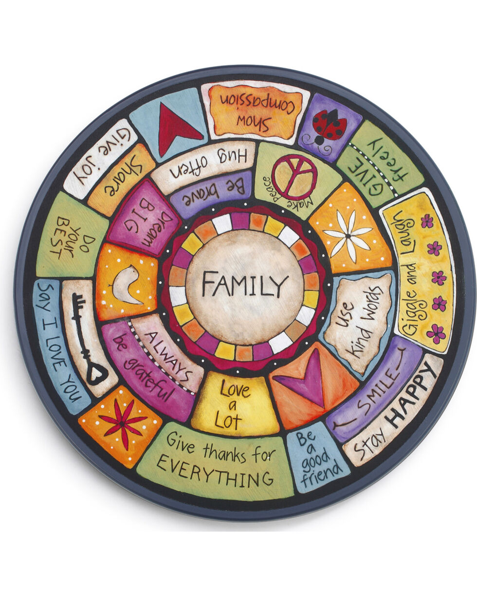 Demdaco Family Values Lazy Susan , Multi, hi-res