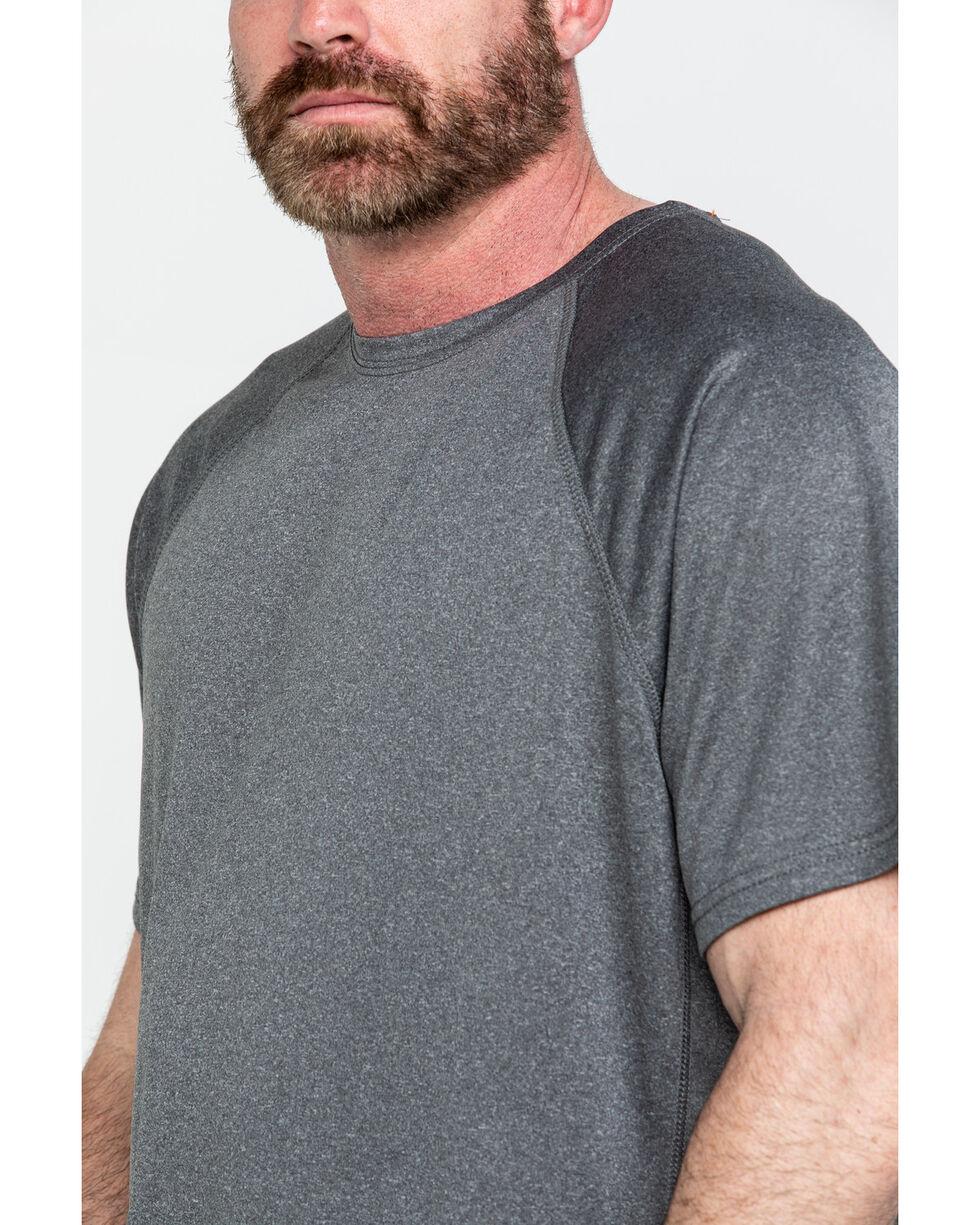Hawx® Men's Solid Performance Work T-Shirt , Charcoal, hi-res