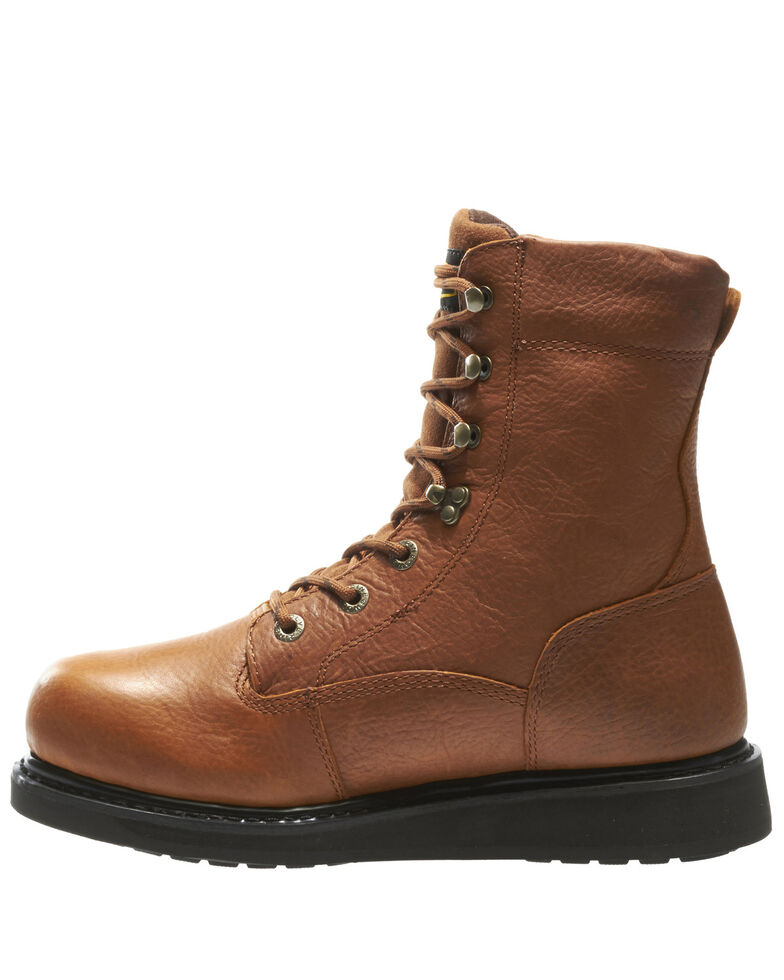 Wolverine Men's Hazard Durashocks Work Boots - Soft Toe, Brown, hi-res