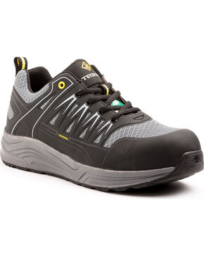 Terra Men's Rebound Composite Toe Work Shoe, Black, hi-res