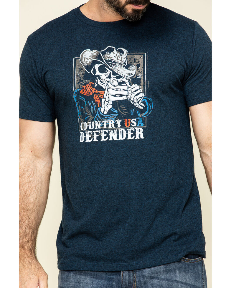Cody James Men's Country USA Defender Graphic Short Sleeve T-Shirt , , hi-res