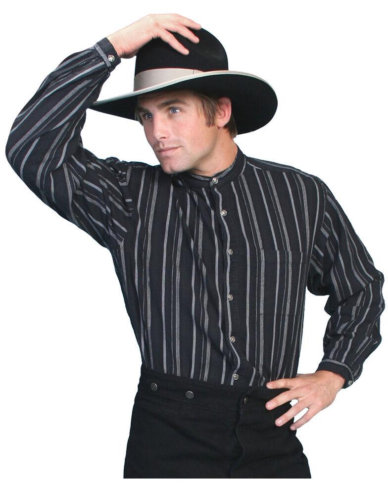 Rangewear by Scully Men's Dobby Shirt, Black, hi-res