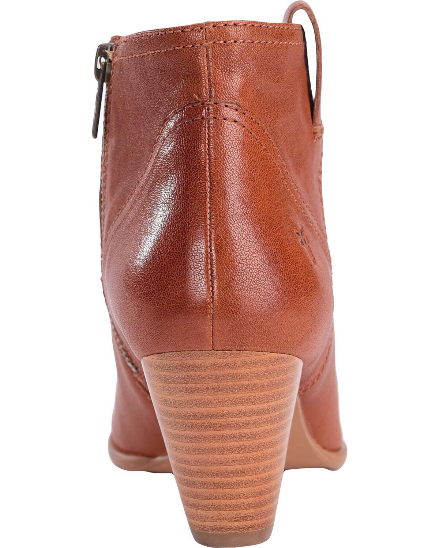 Frye Women's Cognac Reina Leather