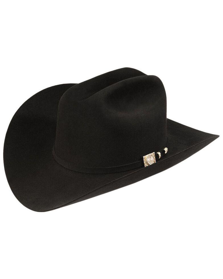 Larry Mahan Independencia 100X Fur Felt Cowboy Hat, Black, hi-res