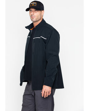 Hawx Men's Soft-Shell Work Jacket , Black, hi-res