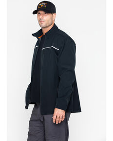 Hawx® Men's Soft-Shell Work Jacket , Black, hi-res