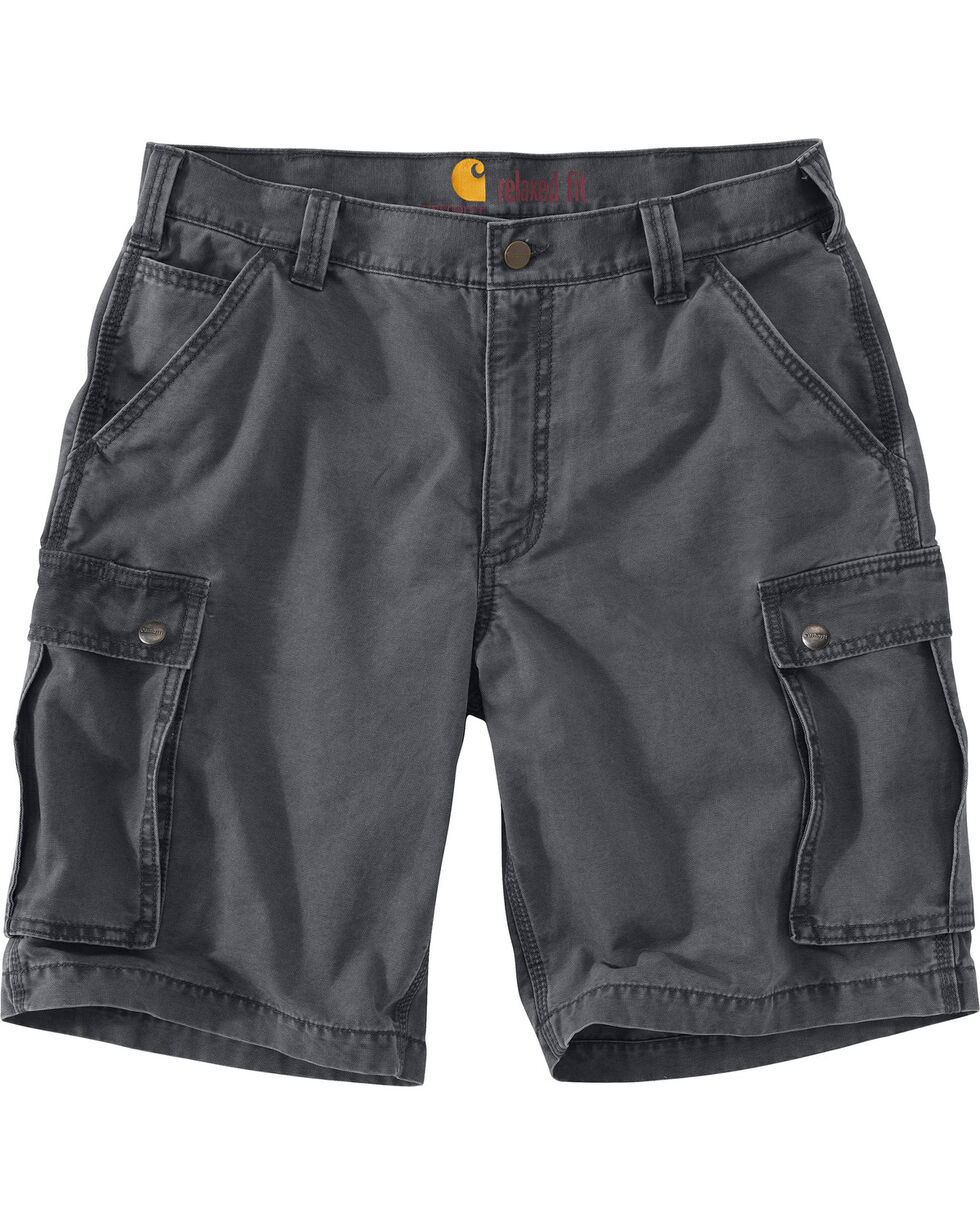 Carhartt Men's Rugged Cargo Shorts, Slate, hi-res