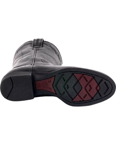Ariat Women's Heritage Roper Western Boots, Black, hi-res