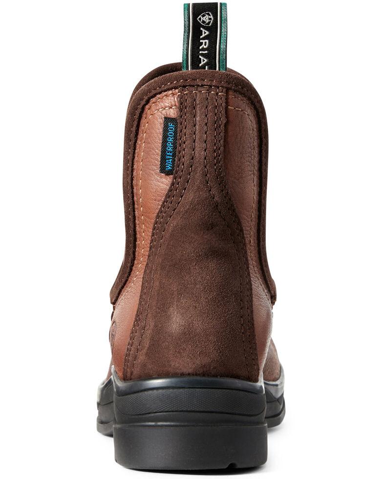 Ariat Women's Keswick Waterproof Chelsea Boots - Round Toe, Brown, hi-res