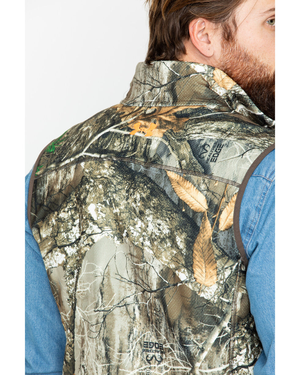 Under Armour Men's Zephyr Off Grid Fleece Camo Vest  , Camouflage, hi-res