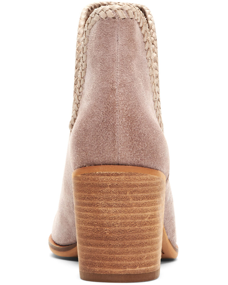 Frye & Co. Women's Phoebe Braided Fashion Booties - Round Toe, Lilac, hi-res