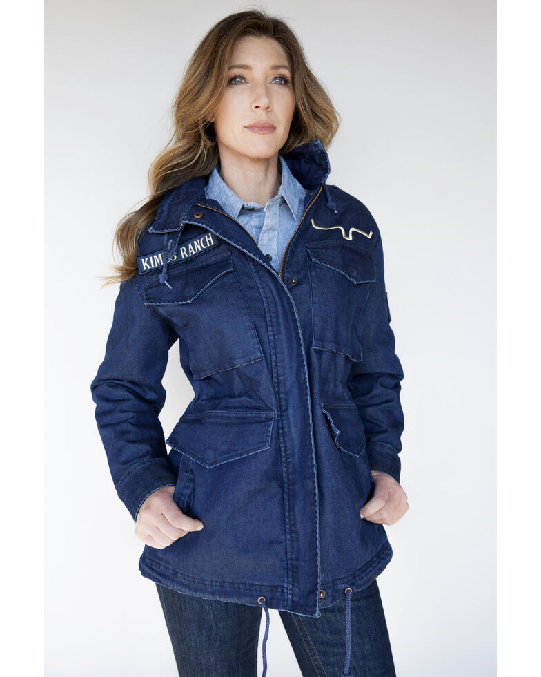 Kimes Ranch Women's 51 Denim Jacket , Indigo, hi-res