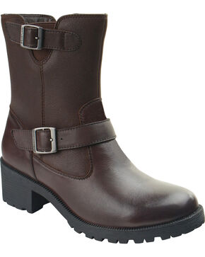 Eastland Women's Brown Belmont Boots , Brown, hi-res