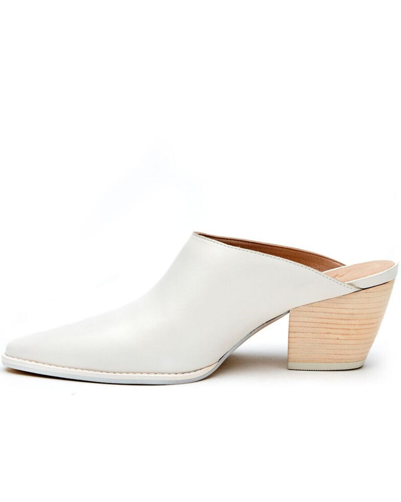 Matisse Women's Cammy Mule Shoes - Pointed Toe, White, hi-res