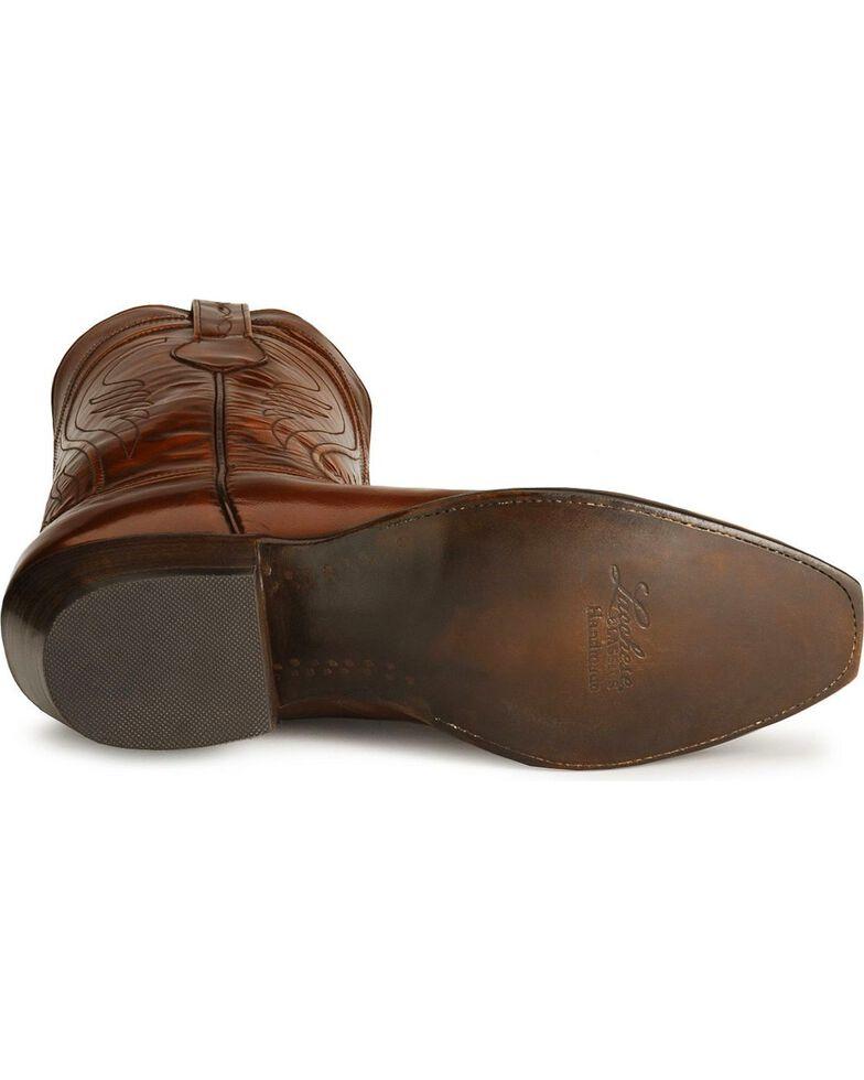 Lucchese Handmade Classics Seville Goatskin Boots - Square Toe, Tan, hi-res