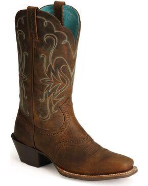 Ariat Women's Legend Western Boots, Distressed, hi-res