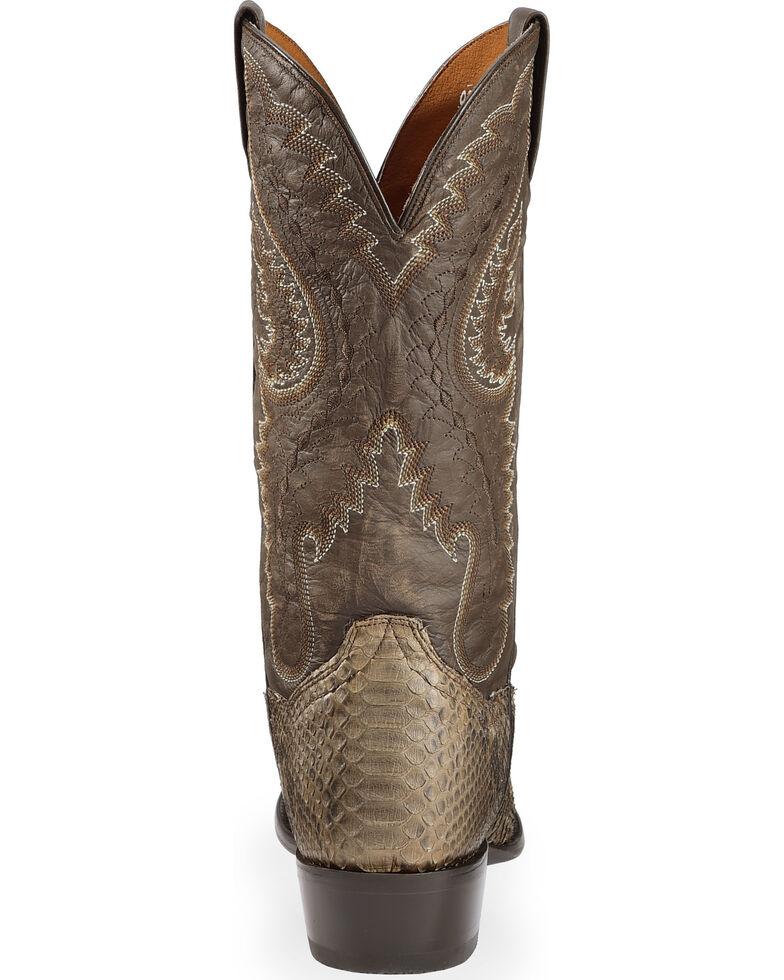 21601e47506 Dan Post Omaha Python Cowboy Boots - Medium Toe
