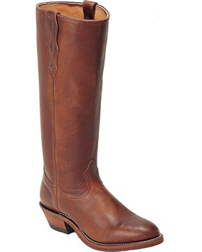 "Boulet Men's Shooter 18"" Western Boots, Brown, hi-res"