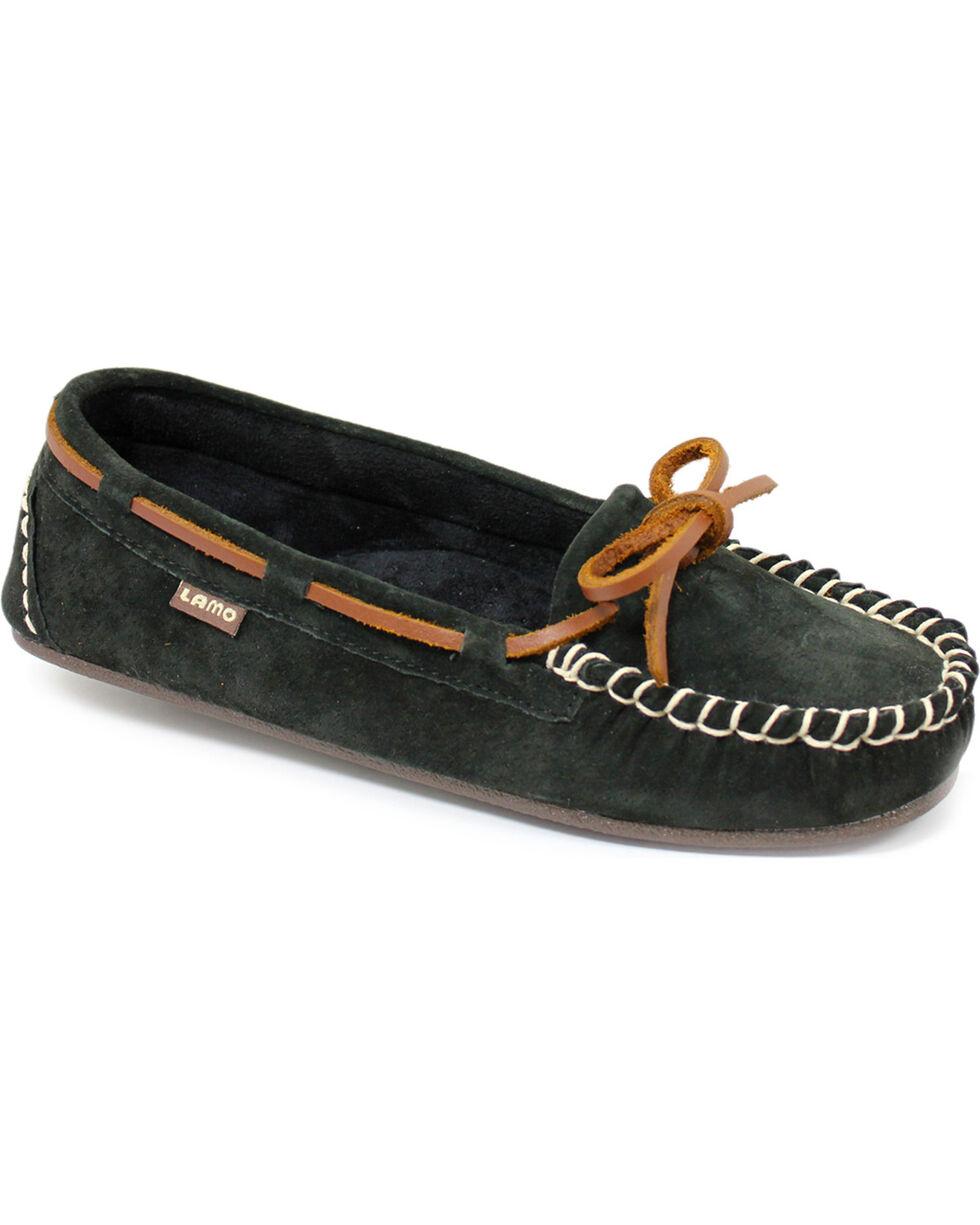 Lamo Footwear Women's Sabrina Moccasins, Black, hi-res