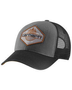 Carhartt Bear Lake Ball Cap , Charcoal, hi-res