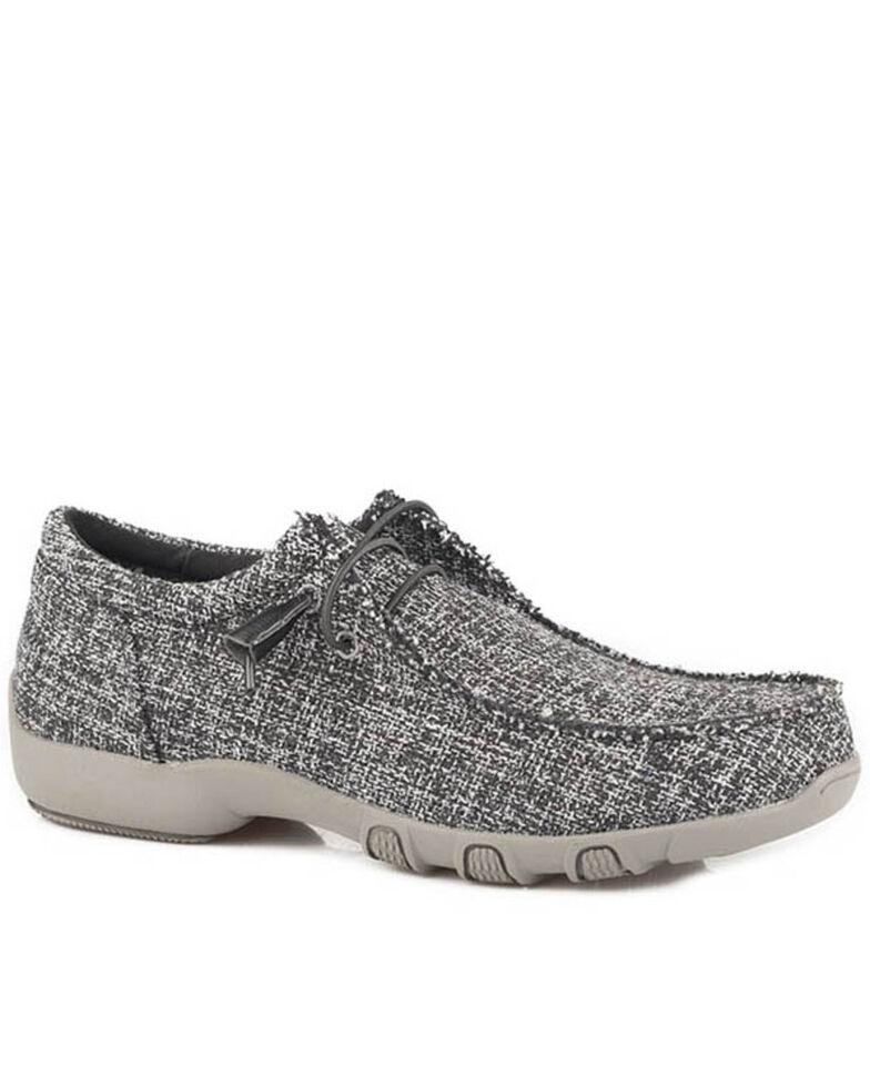Roper Women's Chillin' Casual Shoes - Moc Toe, Black, hi-res
