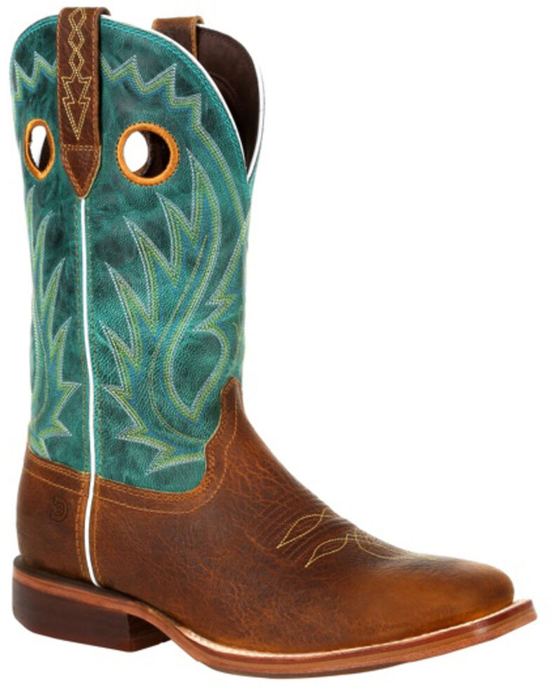 Durango Men's Arena Pro Western Boots - Square Toe, Brown, hi-res