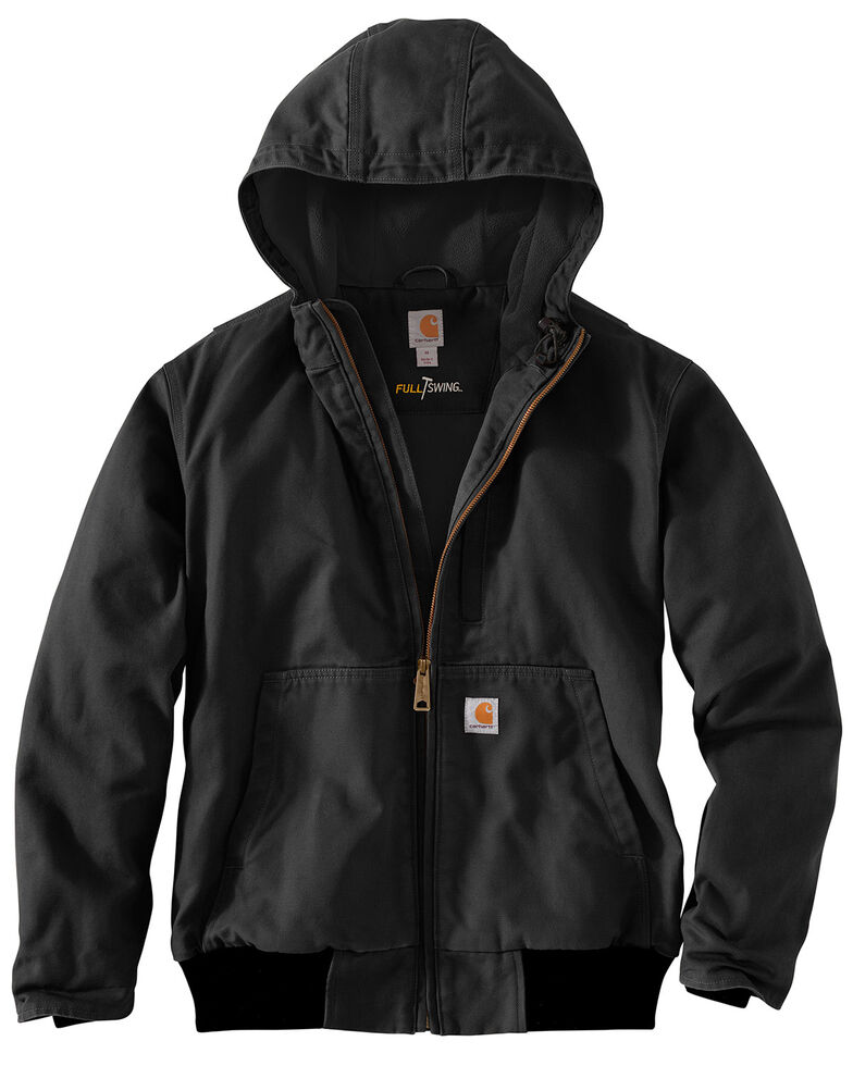 Carhartt Men's Full Swing Armstrong Active Work Jacket , Black, hi-res
