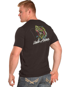 Under Armour Men's Neon Bass T-Shirt, Black, hi-res