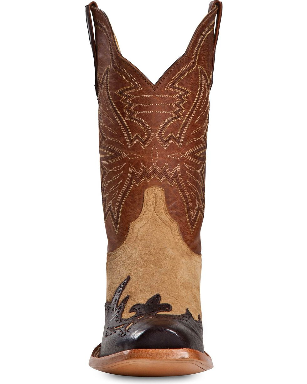 Cinch Men's Piel Yetti Western Boots, Chocolate, hi-res